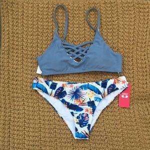 """""""Shekini Swimwear,"""" padded bikini, size small"""